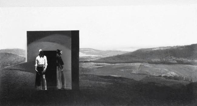 Imitation-object 15, 2004, photo, oil on canvas, 60x100 cm
