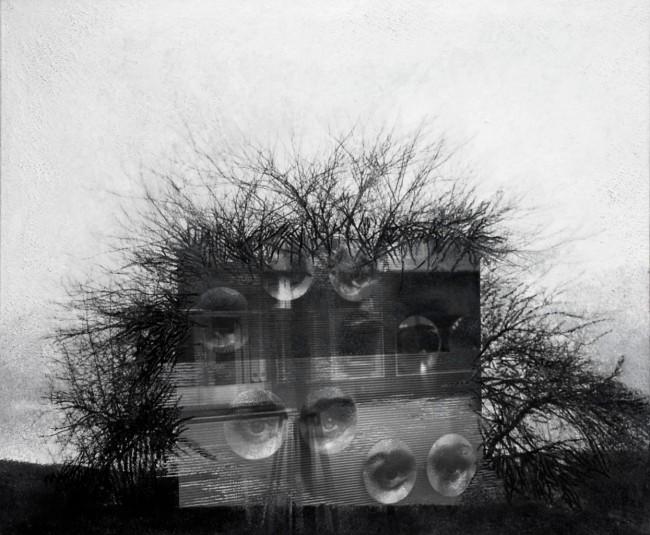 Imitation-object 23, 2004, photo, oil on canvas, 100x120 cm
