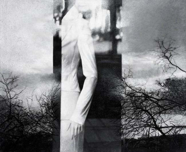Imitation-object 24, 2004, photo, oil on canvas, 100x120 cm