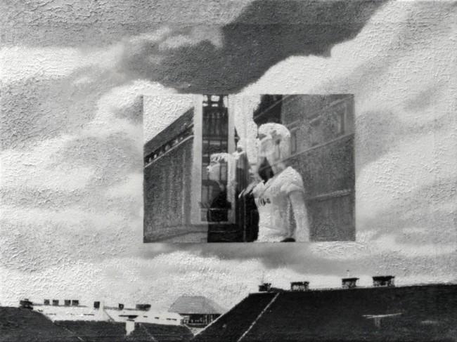 Imitation-object 7, 2008, photo, oil on canvas, 30x40 cm