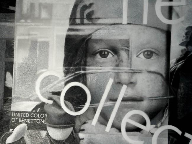 Still Life : Benetton 1, 2001, photo, oil on canvas, 100x120 cm