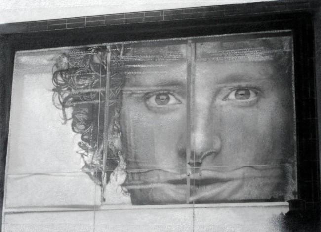 Still Life : Benetton 11, 2002, photo, oil on canvas, 70x100 cm