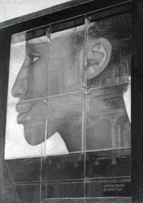 Still Life : Benetton 12, 2002, photo, oil on canvas, 100x70 cm