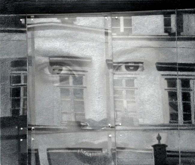 Still Life : Benetton 13, 2002, photo, oil on canvas, 80x100 cm