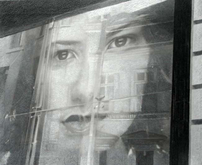 Still Life : Benetton 15, 2002, photo, oil on canvas, 80x100 cm