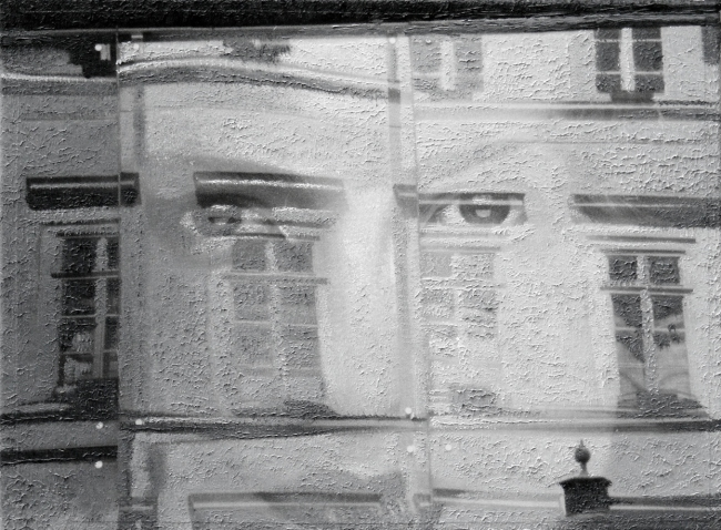 Still Life : Benetton 17, 2010, photo, oil on canvas, 30x40 cm