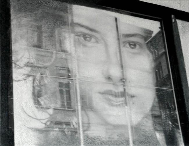 Still Life : Benetton 4, 2002, photo, oil on canvas, 70x100 cm