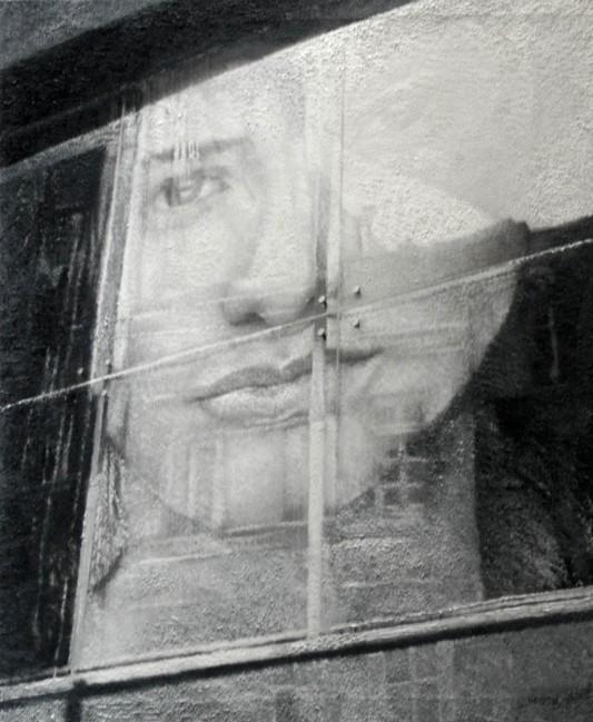 Still Life : Benetton 5, 2002, photo, oil on canvas, 100x70 cm