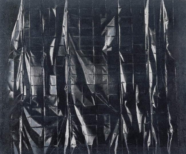 Still Life Budapest 18, 2001, photo, oil on canvas, 100x120 cm