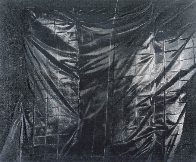 Still Life Budapest 5, 2001, photo, oil on canvas, 100x120 cm