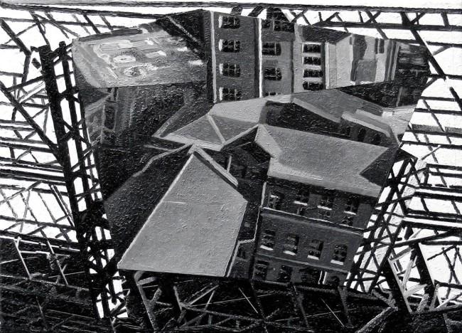 Still Life Budapest 82, 2009, photo, oil on canvas, 30x40 cm