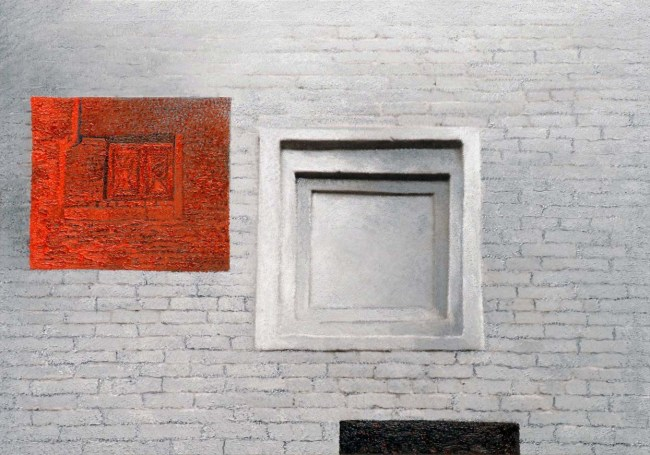 Still Life Moscow 46, 2007, photo, oil on canvas, 70x100 cm
