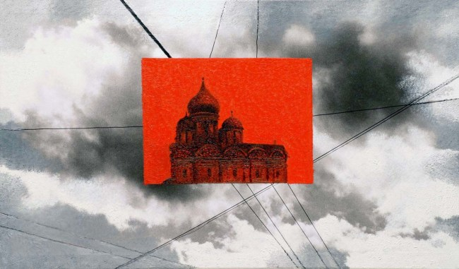 Still Life Moscow 52, 2007, photo, oil on canvas, 60x100 cm
