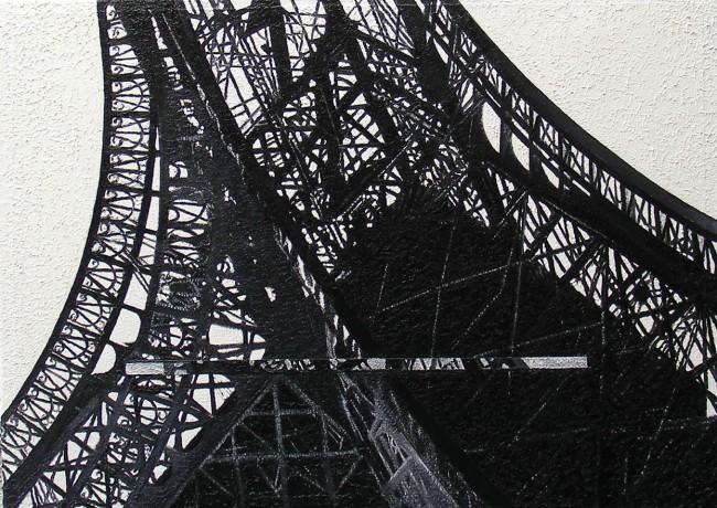 Still Life Paris 10, 2008, photo, oil on canvas, 50x70 cm