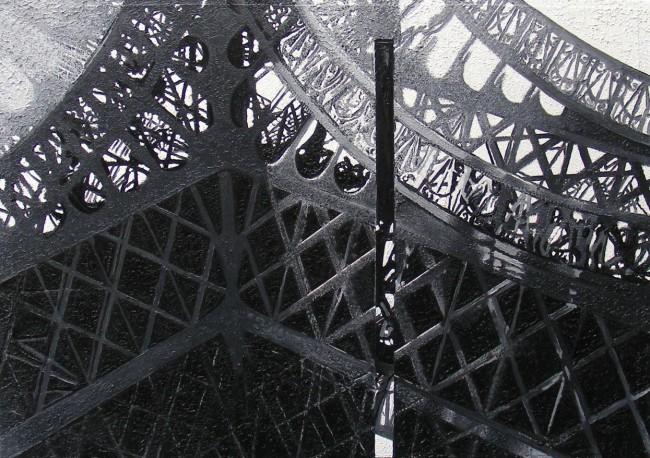 Still Life Paris 12, 2008, photo, oil on canvas, 50x70 cm