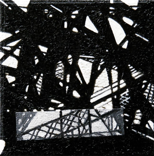 Still Life Paris 16, 2008, photo, oil on canvas, 25x25 cm