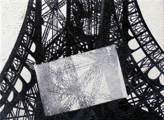 Still Life Paris 6, 2008, photo, oil on canvas, 30x40 cm