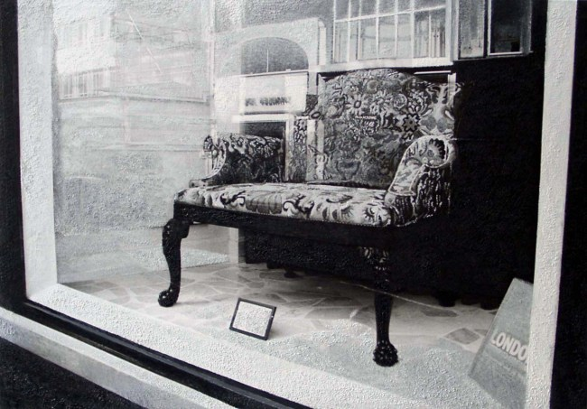 Still Life : Shop Windows 10, 2003, photo, oil on canvas, 70x100 cm