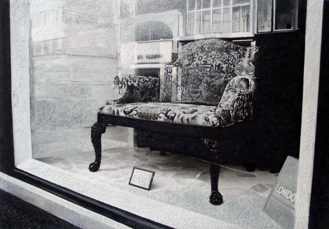 Still Life : Shop Windows 10, 2003, photo, oil on canvas, 70x100 cm
