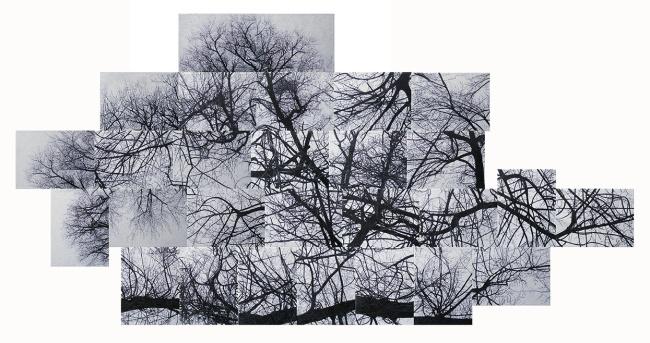 symptom_2015_paintinginstallation_ 160x320cm