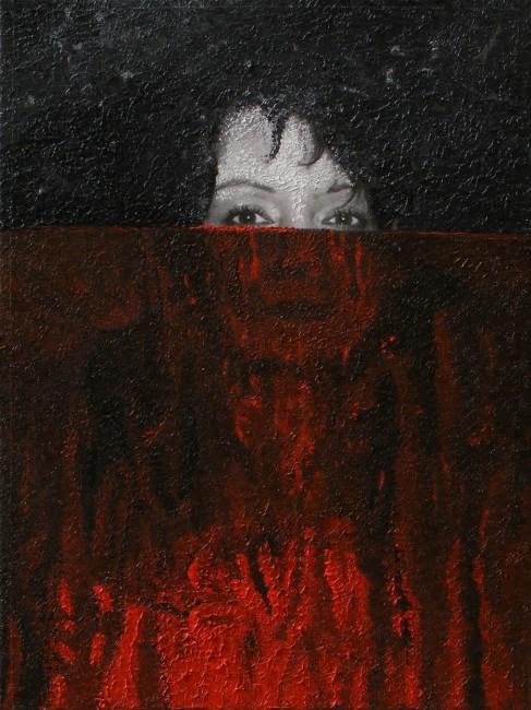 Writer Still Life 5, 2008, photo, oil on canvas, 40x30 cm