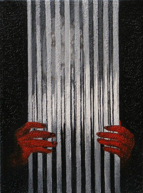 Writer Still Life 6, 2008, photo, oil on canvas, 40x30 cm