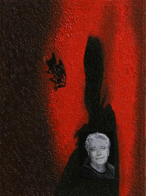Writer Still Life 7, 2008, photo, oil on canvas, 40x30 cm