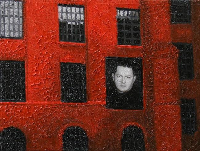 Writer Still Life 8, 2008, photo, oil on canvas, 30x40 cm